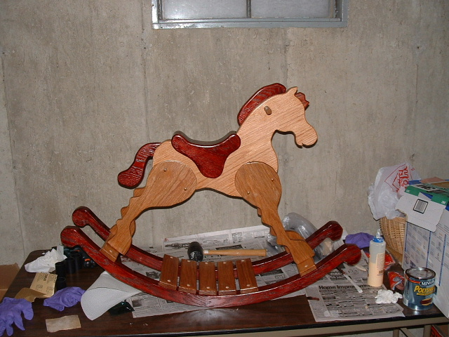 traditional rocking horse plans